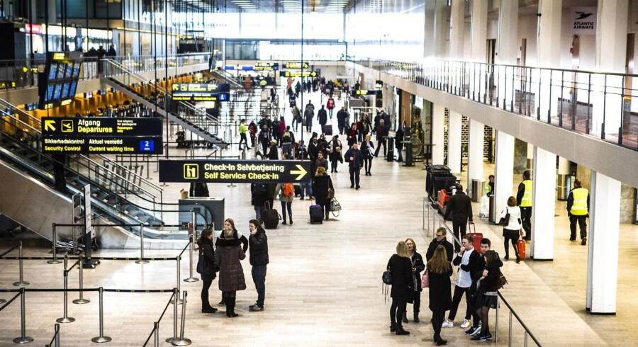 Terminal 2 i Københavns Lufthavn skal fra på søndag også rumme indenrigspassagerer.