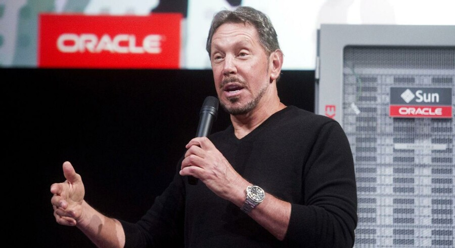 Larry Ellison er ikke længere topchef i sit firma, IT-giganten Oracle, men han fortsætter på sidelinien. Arkivfoto: Noah Berger, Reuters/Scanpix
