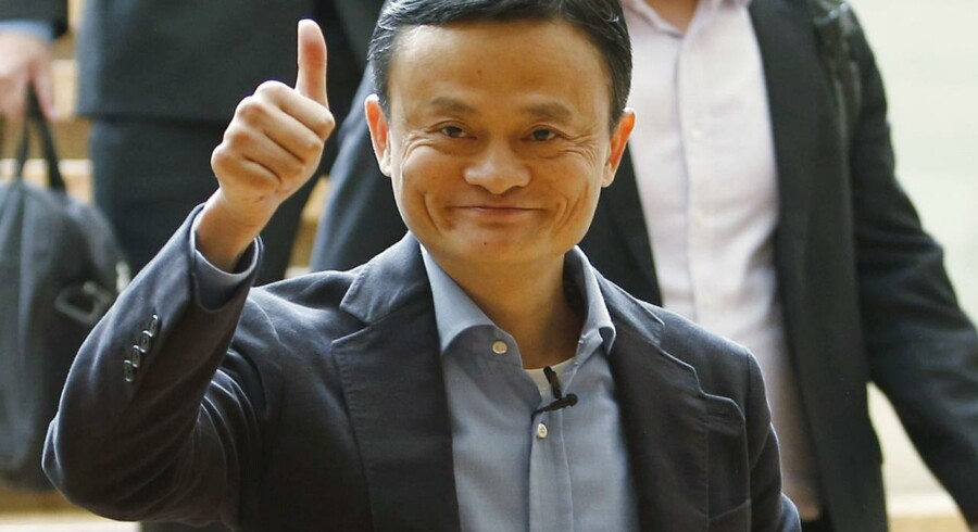 Alibabas stifter, Jack Ma