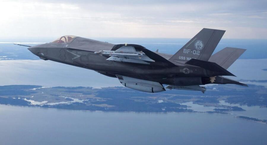 Erstatter F-35 kampflyet mon det gamle F-16 fly? Hos danske Terma håber man og venter en fordoblet omsætning inden for de kommende år, hvis det sker.