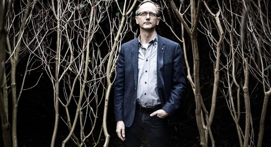 Kristendemokraternes formand, Stig Grenov, fotograferet i Kongens Have