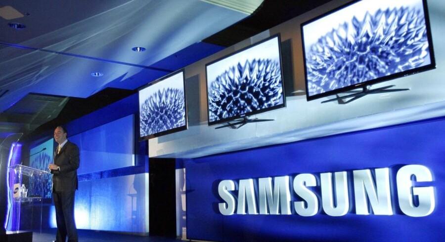 Samsung forventer fortsat fremgang i fladskærmssalget i 2010 og håber, at det nye 3D-TV kan trække. Foto: Mario Anzuoni, Reuters/Scanpix