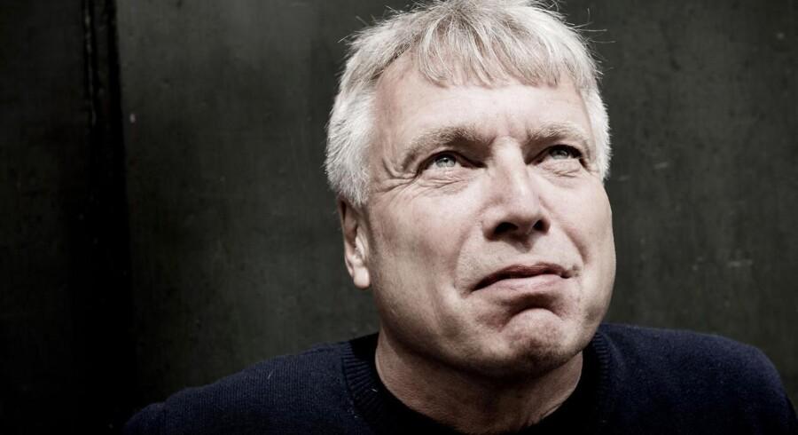 Formanden for Alternativet, Uffe Elbæk, fotograferet i partihovedkvarteret i Indre København.