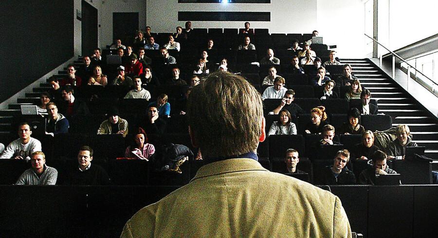 ARKIVFOTO. Postnummeret er afgørende for de unges studievalg.