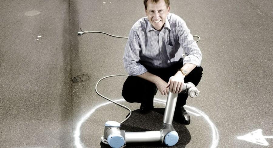 Enrico Krog Iversen er direktør for Universal Robots, som vokser lystigt.