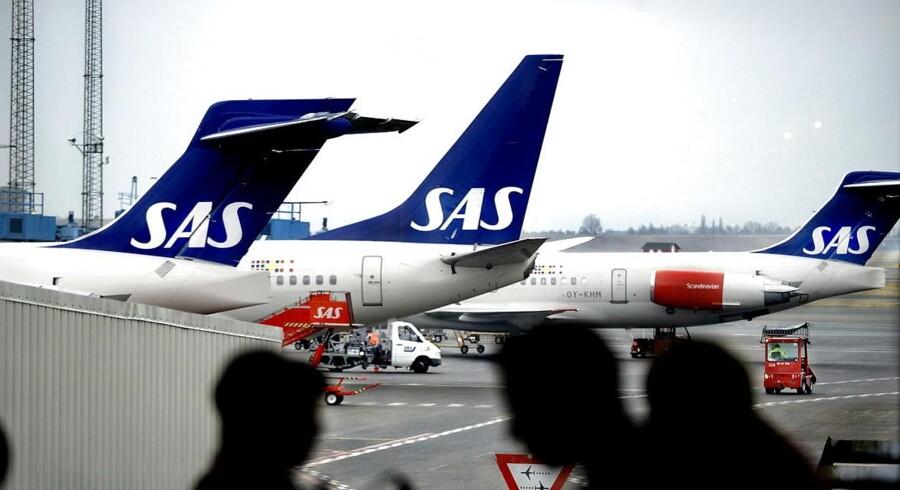 SAS sender efter ti år IT-leverandøren CSC på porten. Arkivfoto: Christian Als, Scanpix