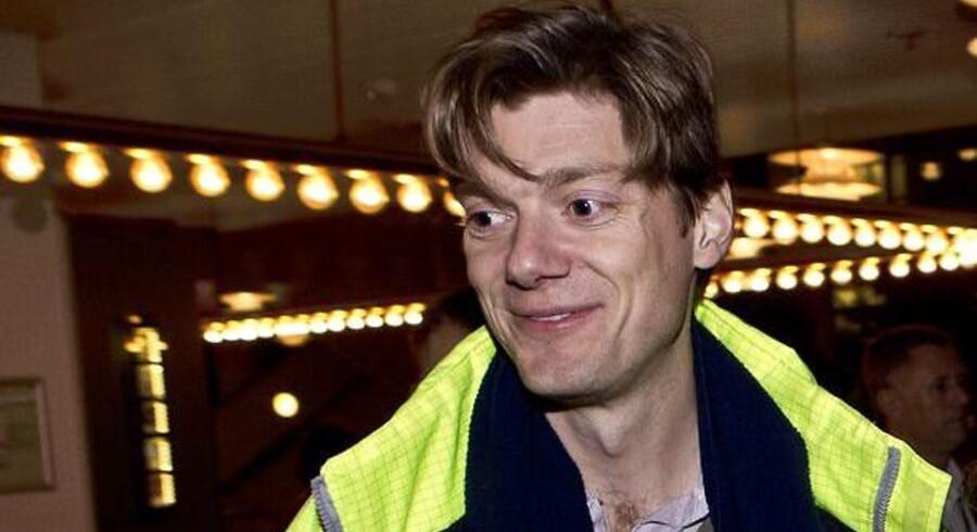 Johan Uggla går i offensiv mod Hamborg. Han vil have mere gods fra danske virksomheder til containerhavnen i Aarhus.