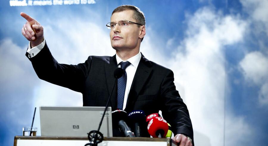 Vestas præsenterer stor sparerunde og organisationsændring. Topchef Ditlev Engel.