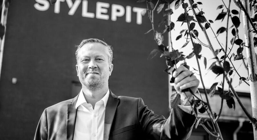 Medstifter og bestyrelsesmedlem i online-tøjbutikken Stylepit, Christian Bjerre Kusk.