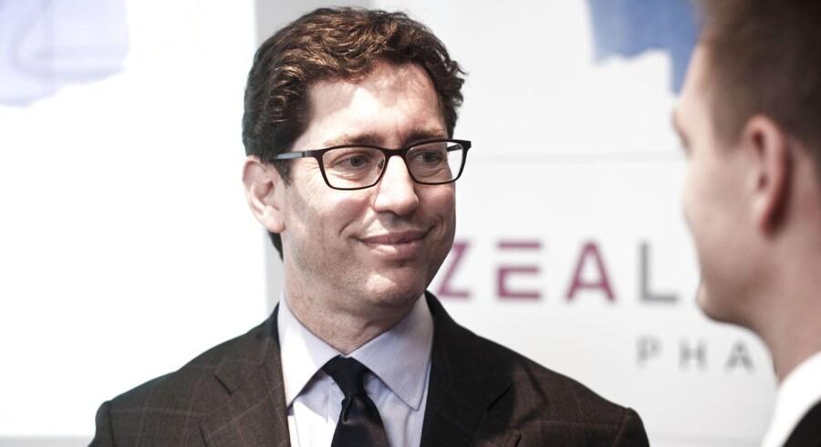 Administrerende direktør i Zealand, Davis H. Solomon.