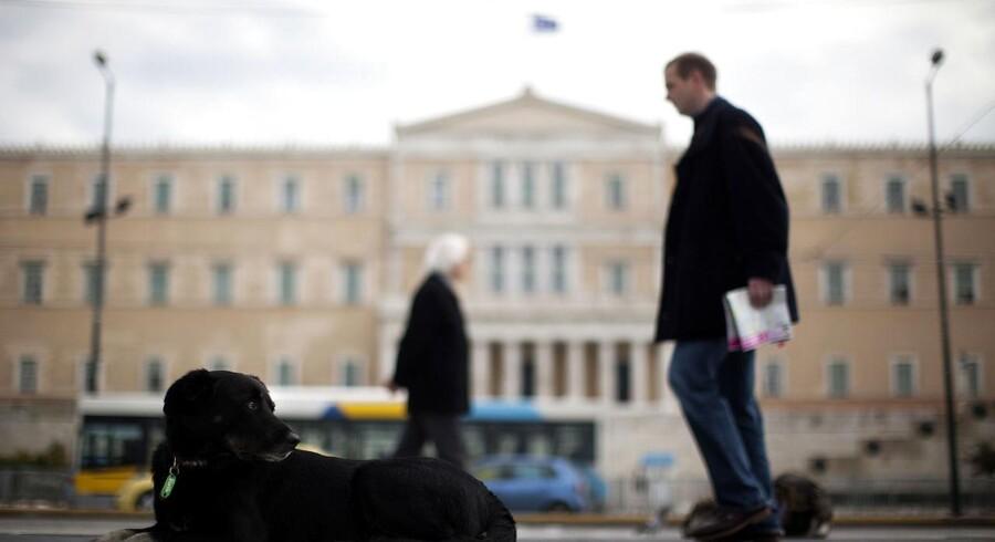 Der er stadig dyb økonomisk krise i Grækenland. Danske Poul Thomsen er IMFs missionschef i landet.