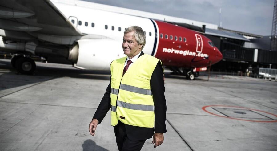 Norwegians adm. direktør, Bjørn Kjos, forhandler lige nu om syv nye ruter til fjerne destinationer.