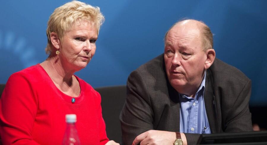 LO Kongres 2015 - Aalborg - Formandsvalg. Nyvalgt formand blev Lizette Risgaard der valgt til ny formand for LO på kongressen i Ålborg
