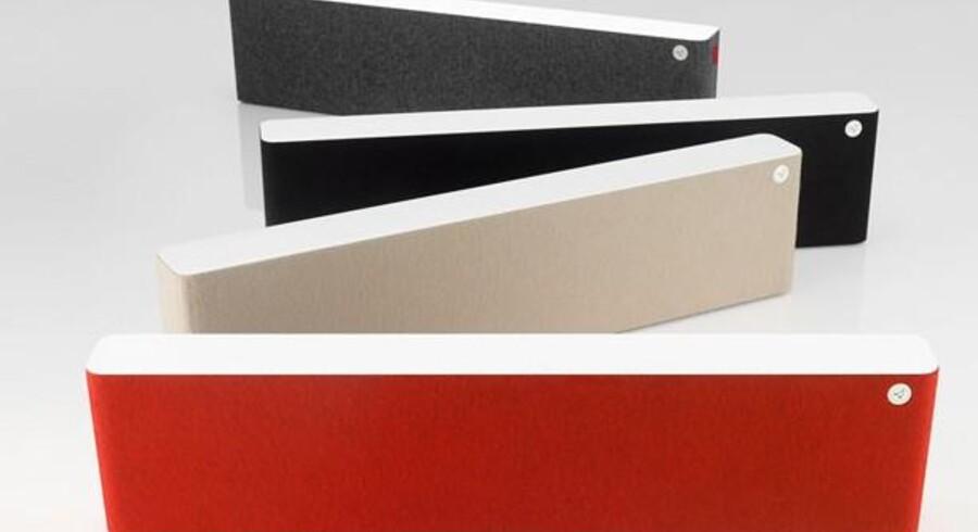 Danske Libratone laver aktive højttalere til stuen i lækkert design. Og nu kan de også fås med AirPlay fra Apple
