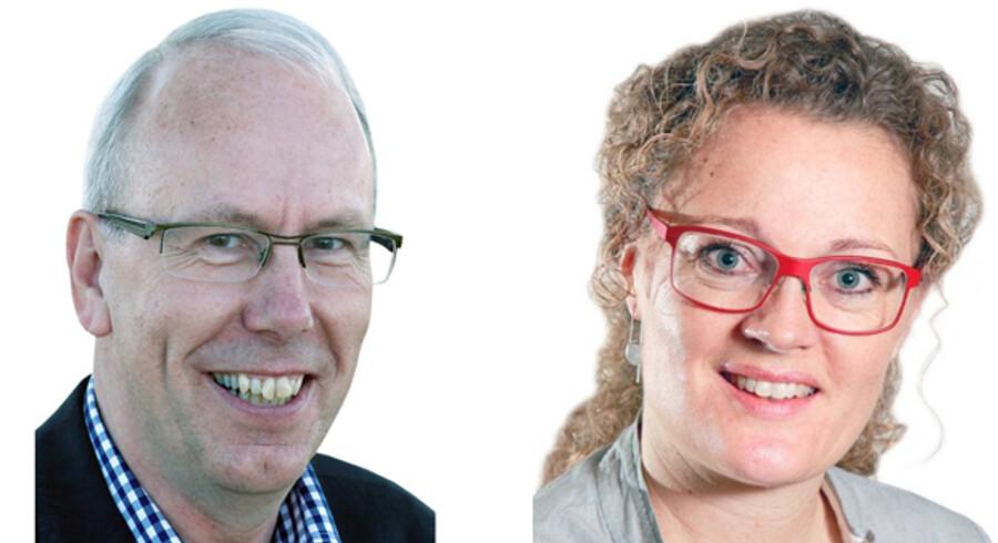 Ebbe Lilliendal og Maren Skotte, Hhv. landsformand og informationskonsulent i Dansk Friskole forening