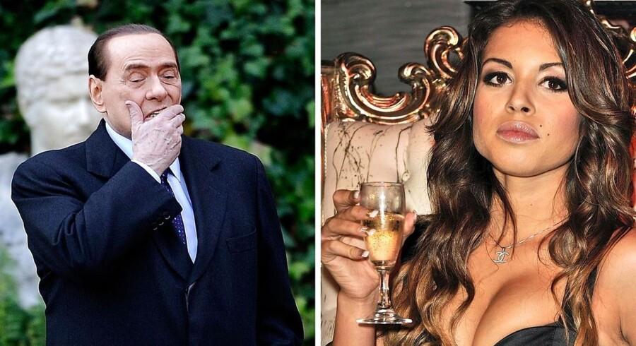Berlusconi vil appellere sin dom for sex med en mindreårig.