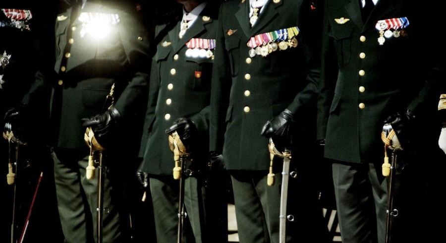 ARKIVFOTO. Hærens Officersskole fejrer 300 års jubilæum.