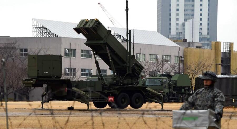 Den japanske forsvarsminister, Gen Nakatani, har onsdag beordret militæret i alarmberedskab, så det er klar til at forsvare landet mod ballistiske missiler fra Nordkorea, hvis det skulle blive nødvendigt.