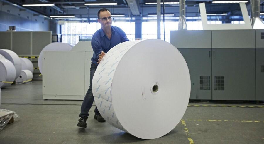 I slutningen af august vil 120 KMD-ansatte blive ramt af en stor fyringsrunde. Begrundelsen er hård konkurrence på det danske marked. ARKIVFOTO.