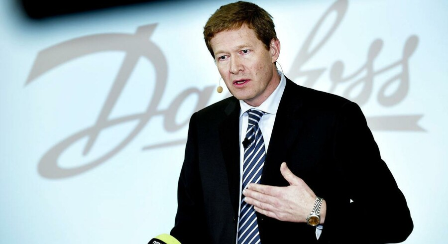 Danfoss' administrerende direktør Niels B. Christiansen er en af de erhvervsledere, som har lagt et idekatalog frem for de ministre, som statsministeren har udstyret med opgaven at skabe flere job i det private erhvervsliv.