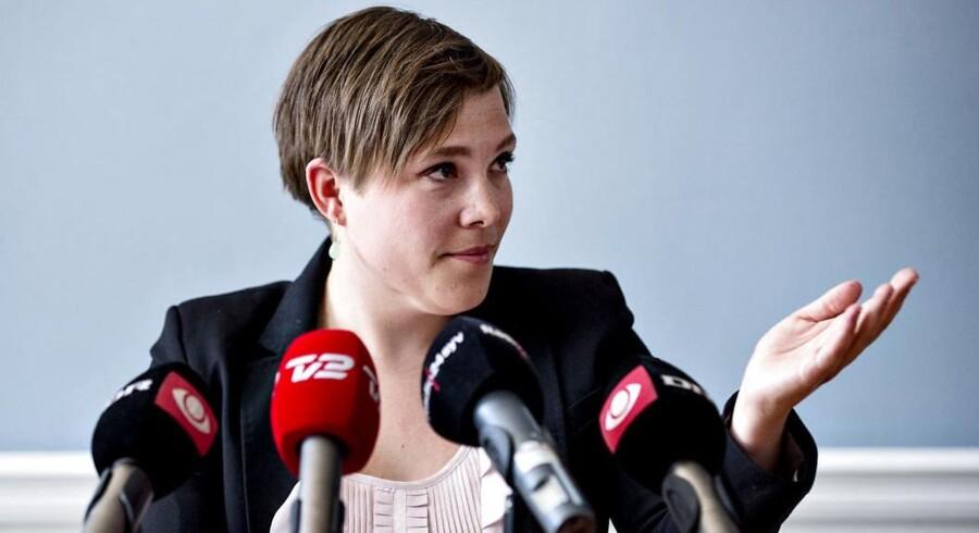 ARKIVFOTO. Sundhedsminister Astrid Krag.