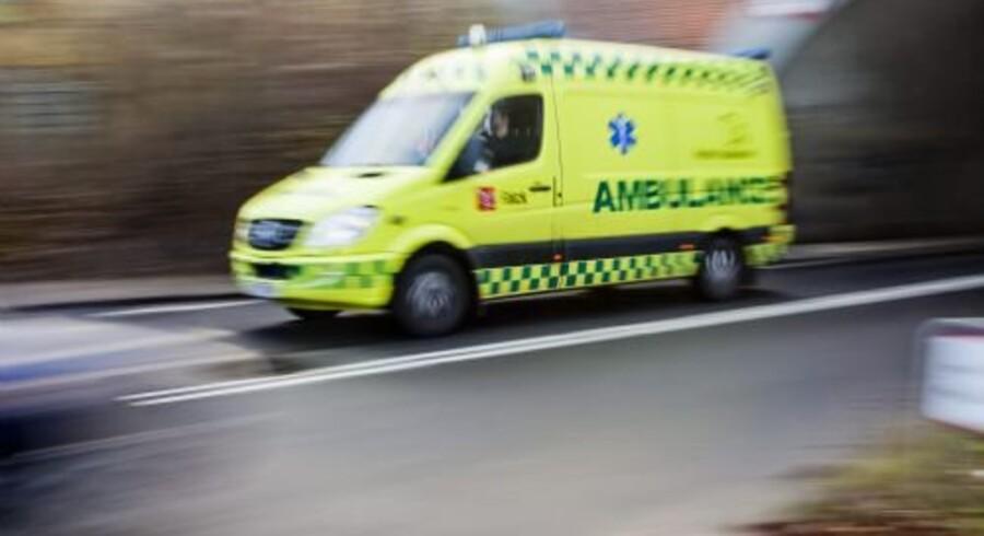 En redegørelse omkring en fejlagtig udbetaling til ambulanceselskabet Bios angiver menneskelige fejl som årsag hos Region Syddanmark. Free/Colourbox