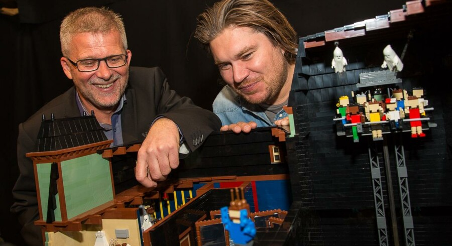 Når LEGOLAND åbner dørene til sæson 2014 er det med en ny forlystelse i parken i form af spøgelseshuset Ghost – The Haunted House