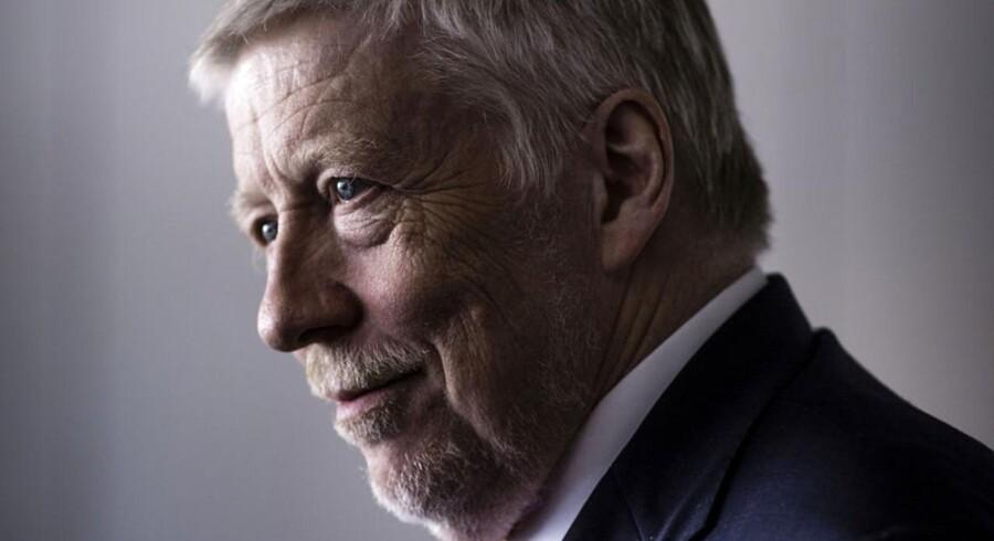 Peter Lybecker, adm. direktør i Nordea Danmark, kan glæde sig over faldende nedskrivninger blandt de danske privat- og erhvervskunder.