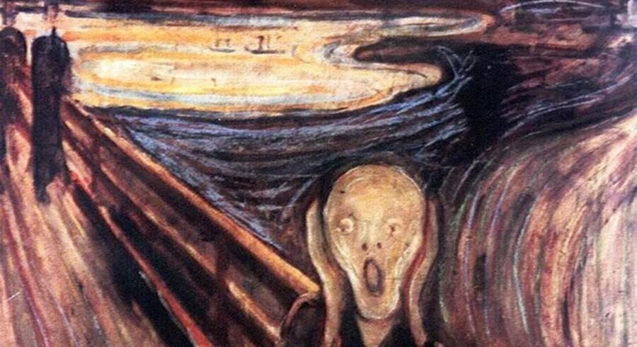 Den nuværende ejer vil ikke savne det lidet muntre maleri.