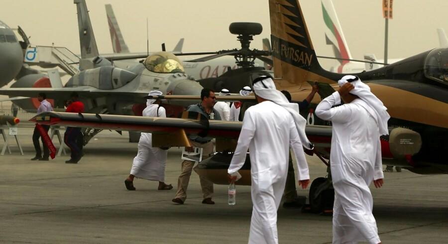 Dubai Airshow flyver af sted netop i disse dage. Her mødes den globale flyindustri.
