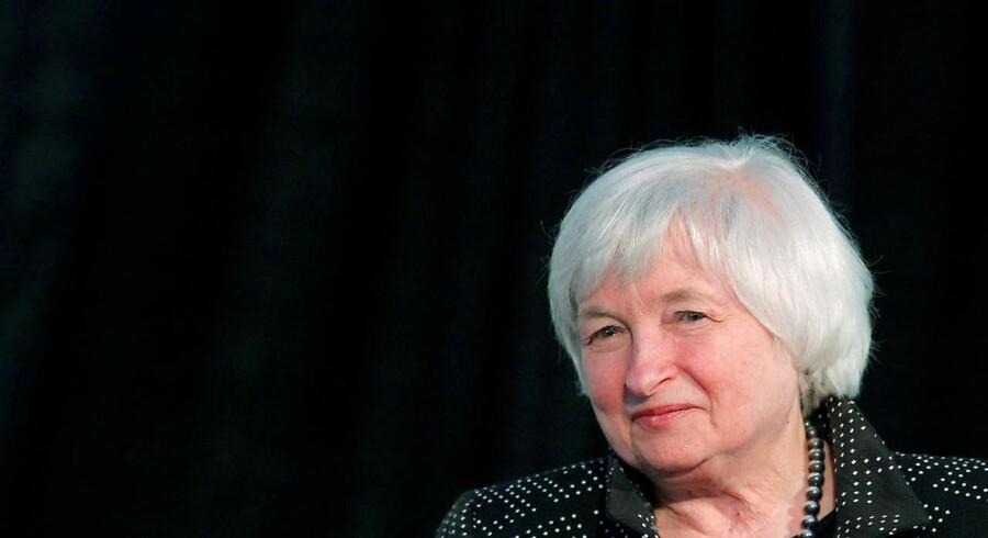 Alle har rettet øjnene mod den amerikanske centralbanks pengepolitiske komité og dens chef Janet Yellen.