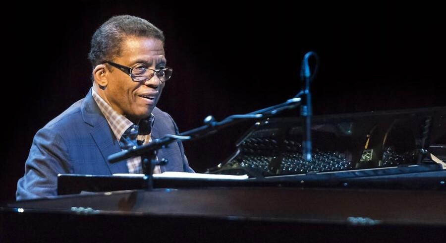 Herbie Hancock var blandt de store, internationale navne, som i år kunne opleves på Copenhagen Jazz Festival.