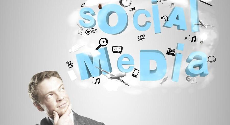 Blandt ledere er sociale medier blevet en væsentlig faktor.