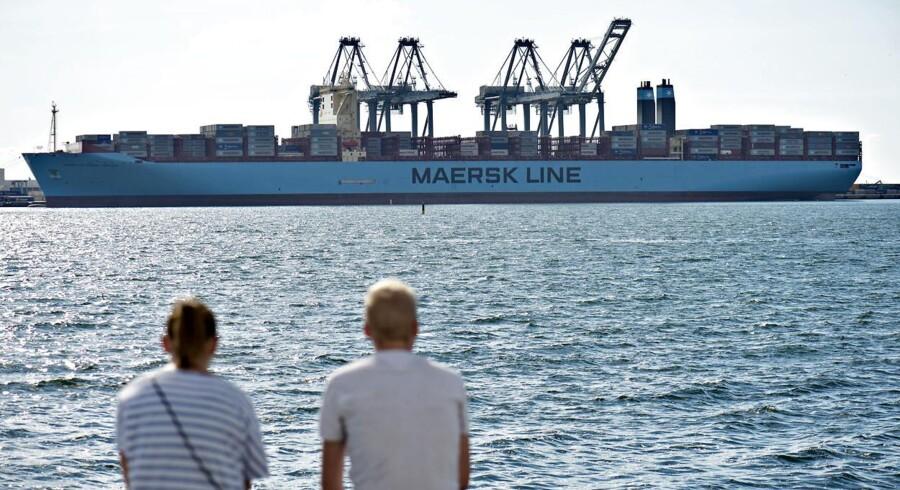 A.P. Møller Mærsk-gruppen fremlagde torsdag morgen sit halvårsregnskab.