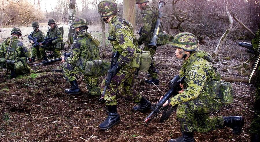 ARKIVFOTO. Forsvarsekspert Mikkel Vedby Rasmussen vurderer, at det bliver nemmere at placere ansvar i den nye struktur af Forsvaret.