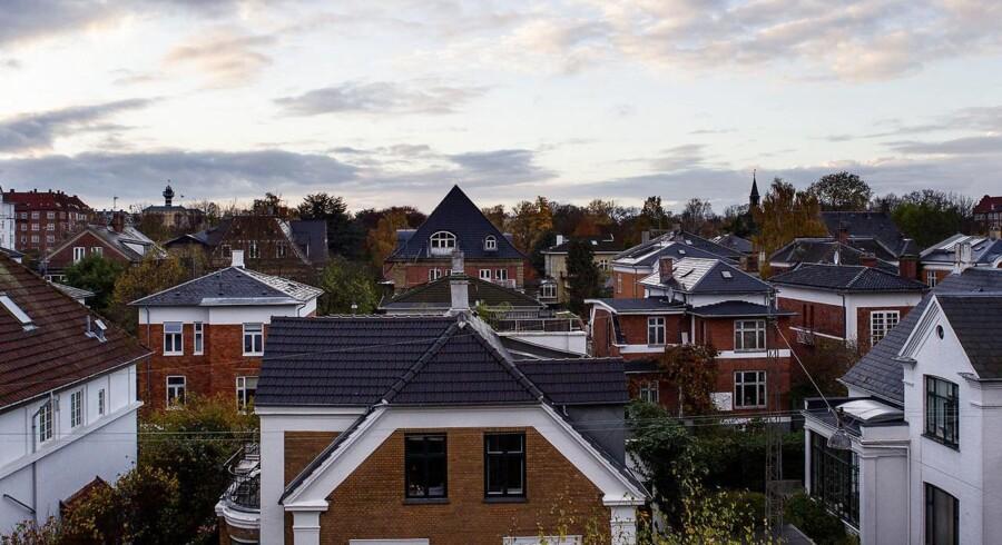 Landets højeste kvadratmeterpriser finder man fortsat på Frederiksberg.