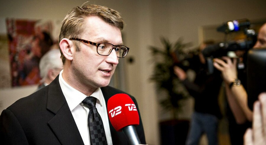 Venstres Troels Lund Poulsen.
