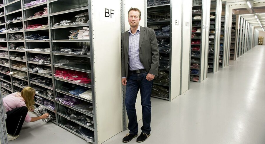 Stylepit venter i 2015/16 en omsætning i niveauet 350 mio. kr. og et beskedent men positivt EBITDA. Her ses direktøren for SmartGuy Christian Bjerre Kusk.