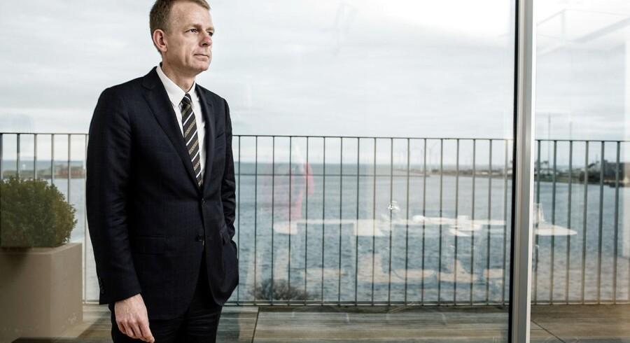 Direktør Bjarne Graven Larsen forlader FIH Ervhervsbank efter frasalget af størstedelen af forretningen.