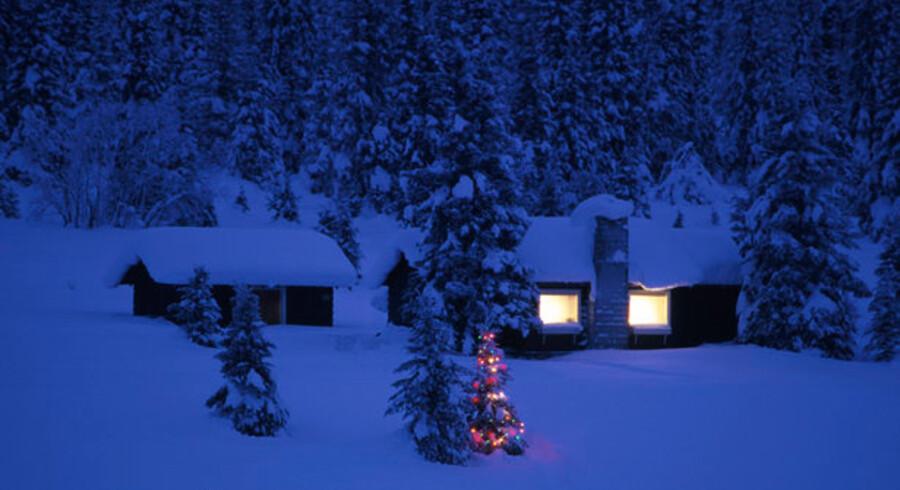 Der vil være hårde men små pakker under juletræerne i Sverige i år. Foto: Colourbox
