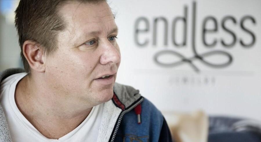 "Jesper ""Kasi"" Nielsen med sit nye firma Endless."
