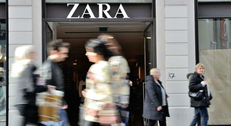 Den spanske tøjgigant Zara indfrier markedets forventninger.
