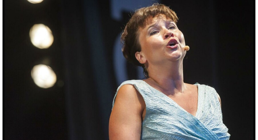 Bl.a. sopranen Sine Bundgaard var på scenen i DR Koncerthuset torsdag.