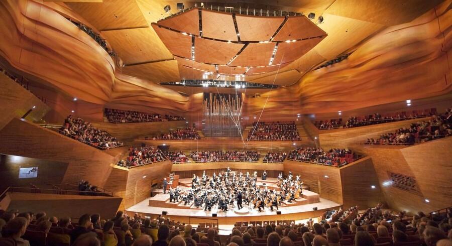 ARKIV FOTO: DR SymfoniOrkestret i Koncerthuset i DR Byen