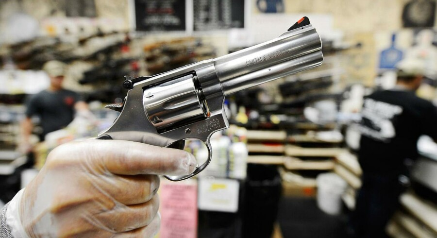 Smith & Wesson .357 magnum-revolver