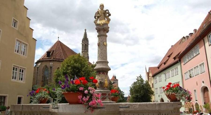 Rothenburg er en historisk by. Noget man på intet tidspunkt er i tvivl om.