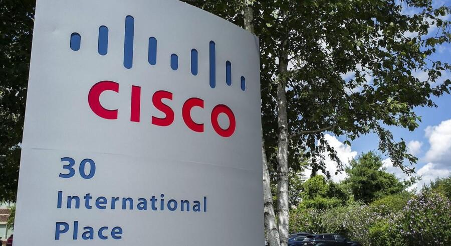 Den amerikanske producent af netværksudstyr, Cisco Systems, fremlagde et bedre resultat end ventet sent onsdag aften.