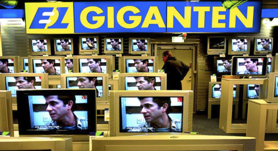 Priskrigen mellem Elgiganten og Media Markt i Sverige er nu så hård, at der direkte tabes penge, hver gang kunderne køber noget. Foto: Bax Lindhardt, Scanpix