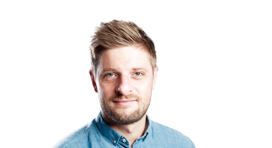 Berlingskes sportsredaktør, Morten Crone Sejersbøl
