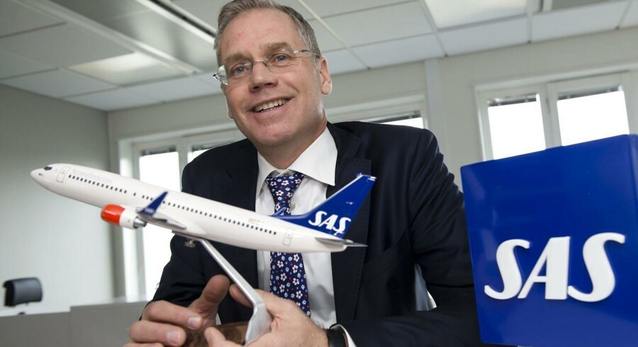 Adm. direktør i SAS Rickard Gustafson.